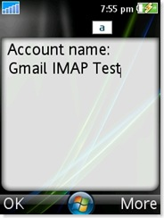 Enter Account Name